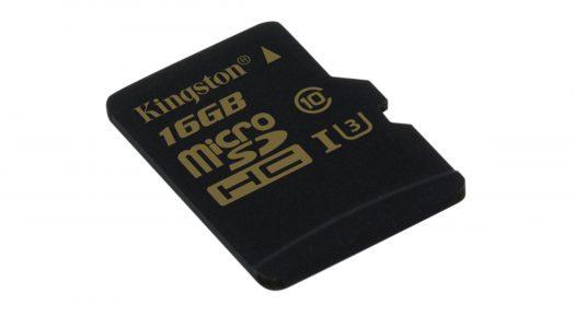 Nueva tarjeta microSD para contenido 4K de Kingston