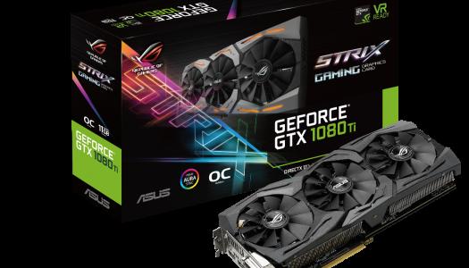 ASUS anuncia oficialmente su nueva GeForce GTX 1080 Ti Strix