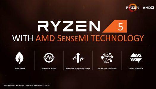 AMD Ryzen 5: Precios e información oficial de cara a su lanzamiento
