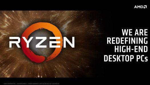 AMD podría lanzar hasta 9 CPUs Ryzen de alto rendimiento