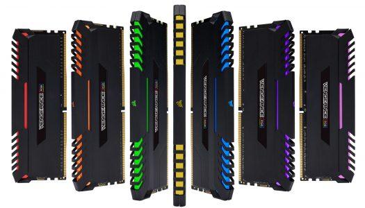 Corsair anuncia sus nuevas memorias DDR4 Vengeance RGB