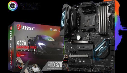 MSI presenta nuevas placas madres para AMD AM4