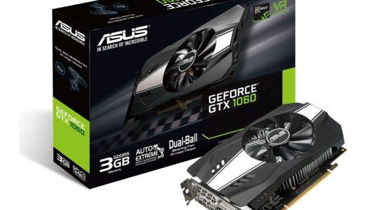 ASUS prepara una nueva GTX 1060 con memoria de 3 GB