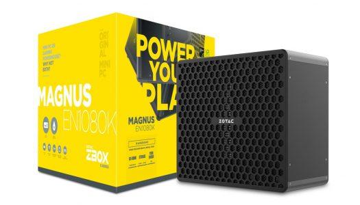 Zotac Magnus actualizado con procesadores Intel Kaby Lake