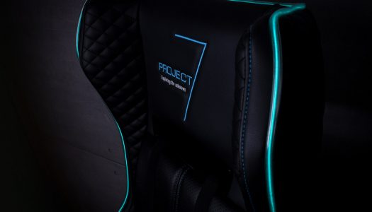 La nueva silla gamer para la línea Project 7 de Aerocool