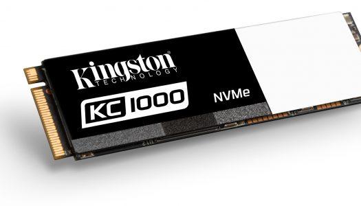 Kingston lanza nueva línea de SSDs M.2 NVMe