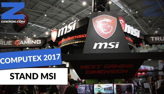 Computex 2017: Hardware, tecnología y muchas novedades en el stand de MSI