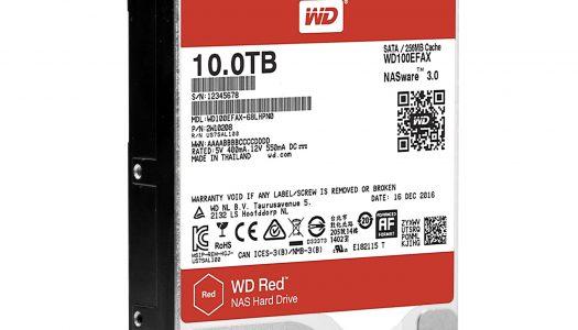 Western Digital ofrece nuevos discos duros de 10 TB fabricados con helio