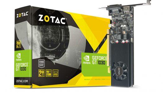 ZOTAC acelera tu computador con la nueva GeForce GT 1030