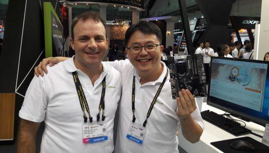 ASRock presentó nuevas soluciones en el Computex 2017