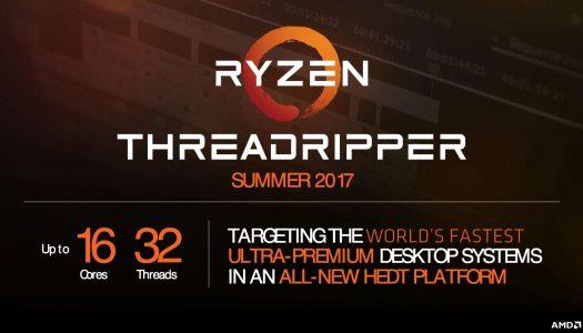 AMD prepararía 9 modelos de CPUs con el nombre Ryzen Threadripper