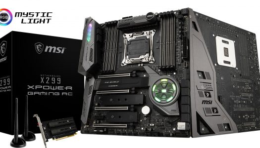 MSI anuncia su nueva placa madre X299 XPOWER Gaming AC