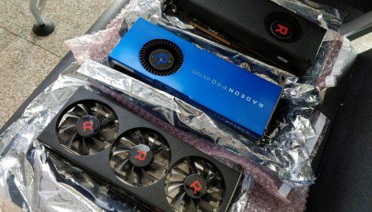 AMD Radeon RX Vega 56 prototipo aparece ante las cámaras