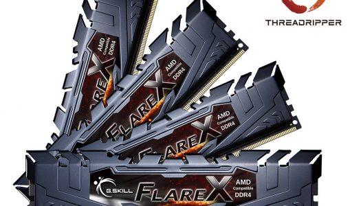 G.Skill anuncia nuevas memorias DDR4 para Ryzen Threadripper