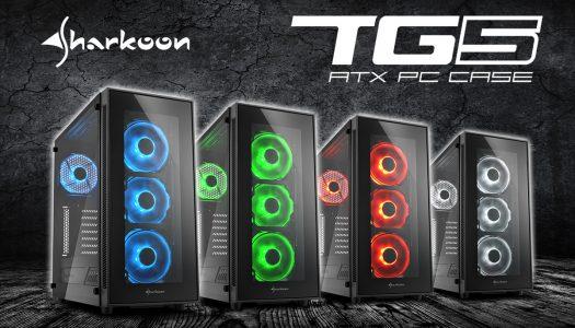 Sharkoon TG5 ATX: Nuevo gabinete con vidrio templado