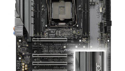 ASRock presenta su motherboard X299 OC Formula