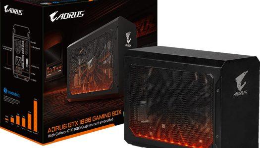 Gigabyte introduce la Aorus GTX 1080 Gaming Box