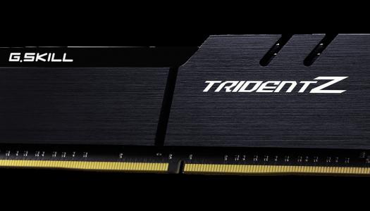 G.Skill anuncia nuevo kit de memorias DDR4 Trident Z a 4600 MHz