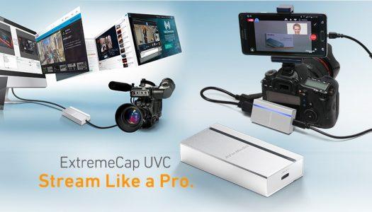 Transmite con Movilidad junto a la última Capturadora UVC de AVerMedia: ExtremeCap UVC BU110