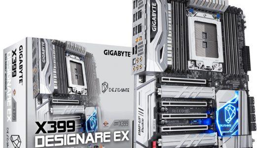 Gigabyte lanza la nueva placa madre X399 Designare EX