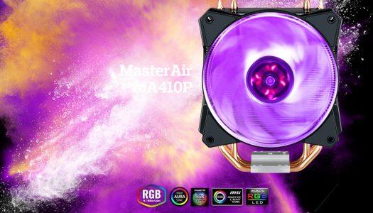 Cooler Master anuncia dos nuevos CPU coolers con iluminación RGB