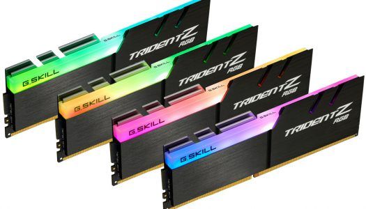 G.Skill anuncia nuevo kit Trident Z DDR4 RGB de 32 GB