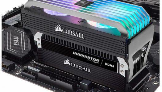 Corsair lanza nuevo sistema de refrigeración RGB para memorias RAM