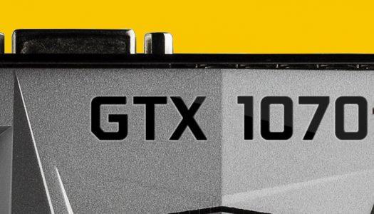 Se revelan los puntajes de la GeForce GTX 1070 Ti en 3DMark