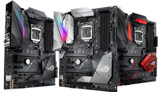 ASUS ROG lanza sus placas madre Maximus X y Strix Z370 Series