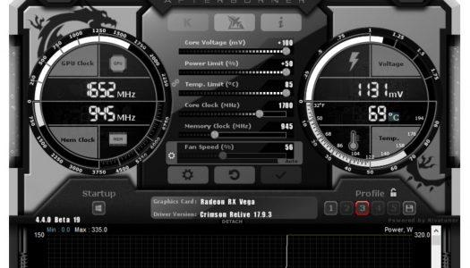 MSI Afterburner añade soporte para las tarjetas gráficas AMD Vega y para la NVIDIA GTX 1070 Ti