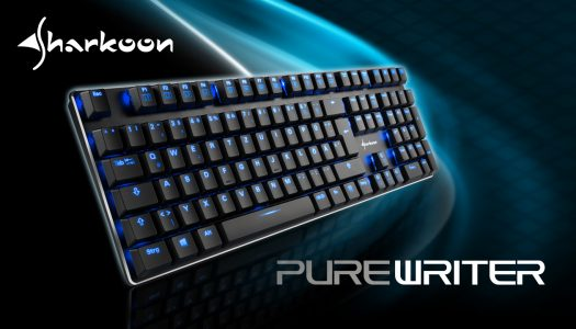 Sharkoon anuncia nuevo teclado mecánico con iluminación y diseño de bajo perfil