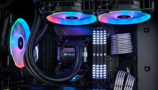 CORSAIR lanza su nueva serie LL de ventiladores RGB