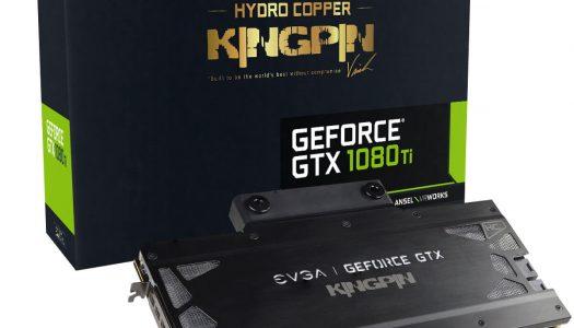 EVGA lanza su nueva tarjeta gráfica GTX 1080 Ti K|NGP|N Hydro Copper