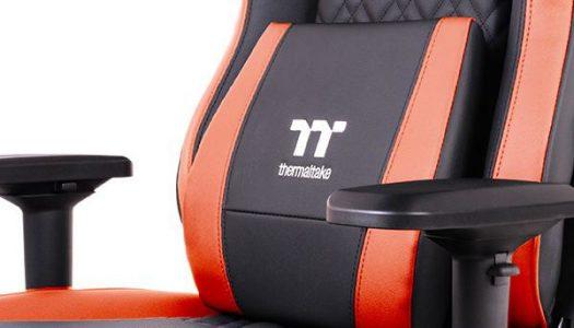 Thermaltake anuncia nueva silla gamer con ventiladores incluidos