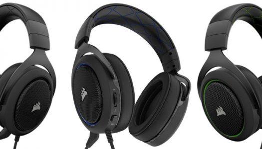 Creados para la comodidad, diseñados para la batalla; CORSAIR lanza los auriculares estéreo para juegos HS50
